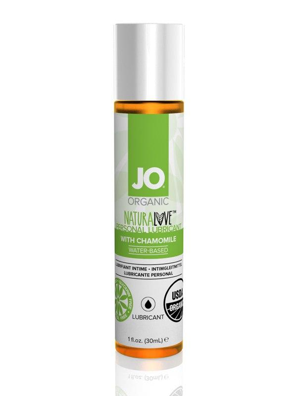 Натуральный лубрикант на водной основе JO Naturelove USDA Organic с экстрактом ромашки – 30 мл