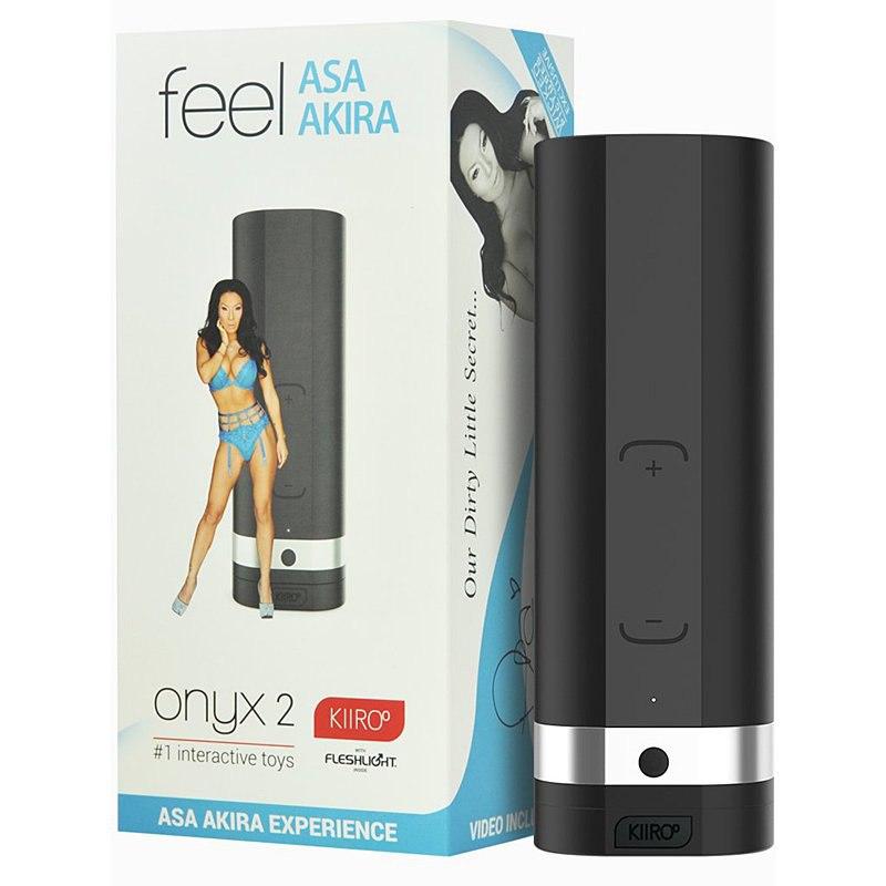 Интерактивный мастурбатор Onyx 2 Asa Akira – черный