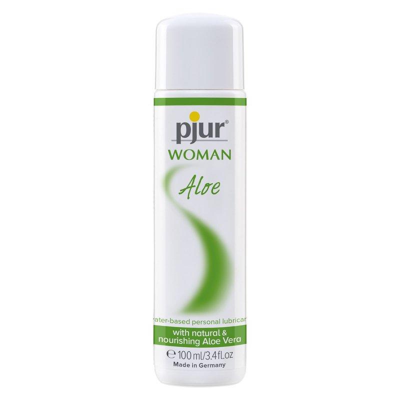 Лубрикант на водной основе Pjur Woman Aloe - 100 мл