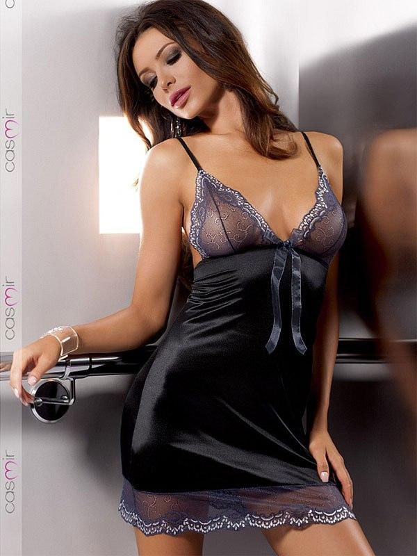 Роскошная сорочка и стринги Ashley (Casmir) - S/M