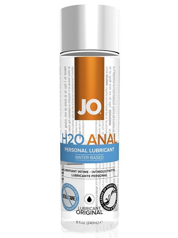 Универсальный анальный лубрикант JO H2O - 240 мл