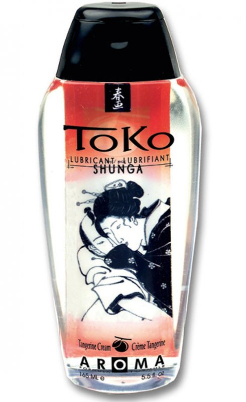 Съедобный лубрикант Toko Aroma Tangerine Cream от Он и Она