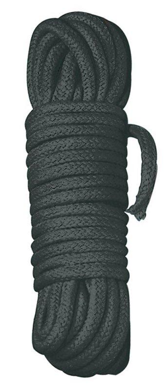 Веревка Bondage Rope 7 м - черный