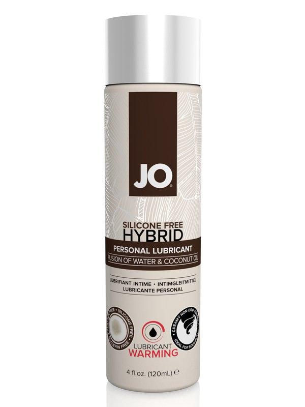 Согревающий лубрикант JO Silicone-Free Hybrid Warming с маслом кокоса  120 мл