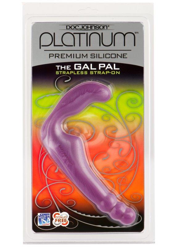 Безремневой страпон Gal Pal - Purple