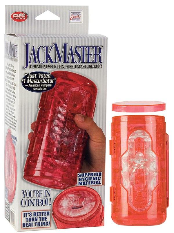 Супер-мастурбатор Jackmaster Masturbator – красный