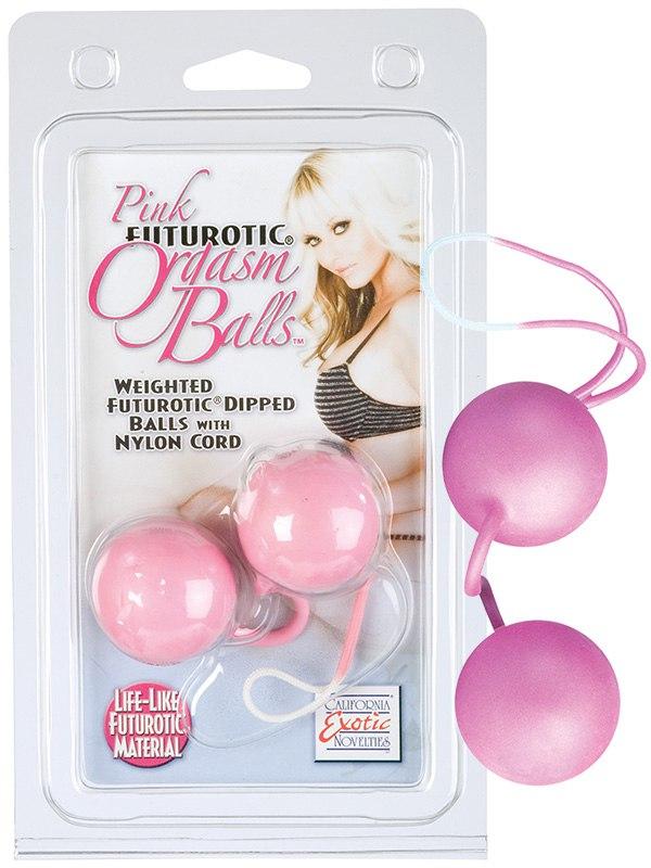 Вагинальные шарики Pink Futurotic Orgasm Balls – розовый