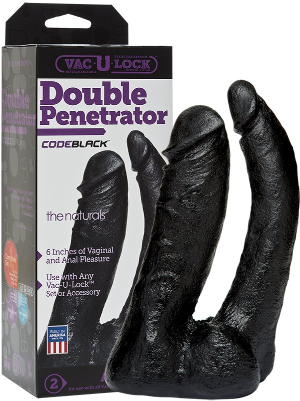 �������-������������� Double Penetrator ��� �������� ������������� � ������ (Doc Johnson, ���)