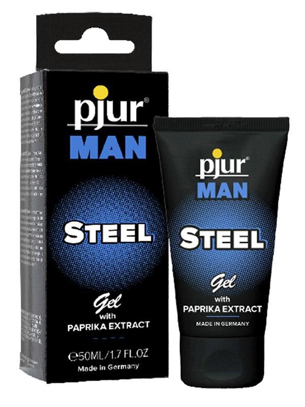 Мужской гель для достижения эрекции Pjur Man Steel Gel – 50 мл