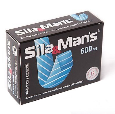 Капсулы Sila&Mans® N9 для мужчин от Он и Она