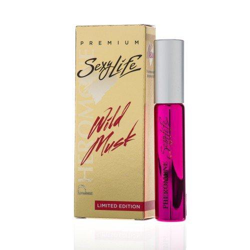 Женские духи с феромонами Sexy Life Wild Musk №15 Tom Ford - Black Orchid 10 мл