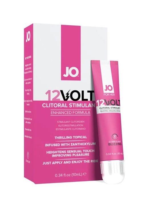 Возбуждающая сыворотка мощного действия JO Volt 12v - 10 мл