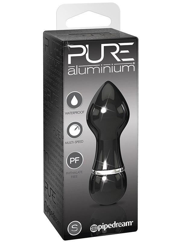 Вибромассажер Pure Aluminium Small Black – черный