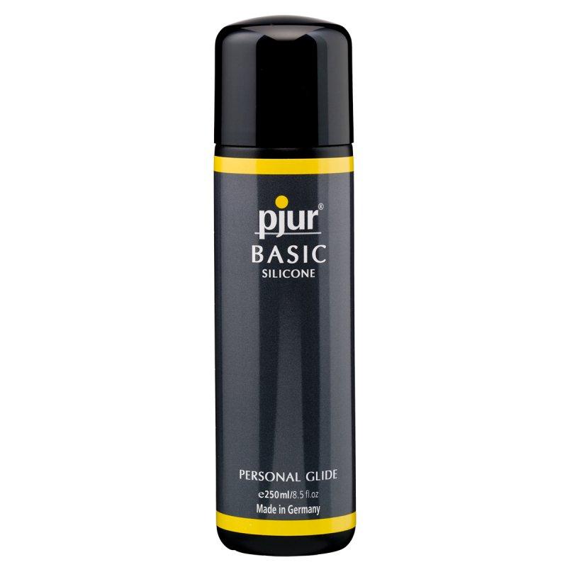Лубрикант Pjur® Basic на силиконовой основе - 250 мл легкий лубрикант pjur® basic waterbased 30 ml