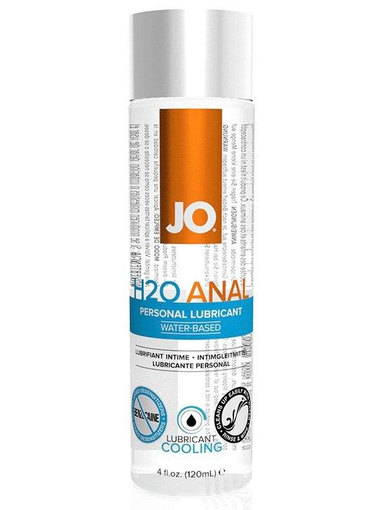 Охлаждающий анальный лубрикант JO H2O Cool - 120 мл