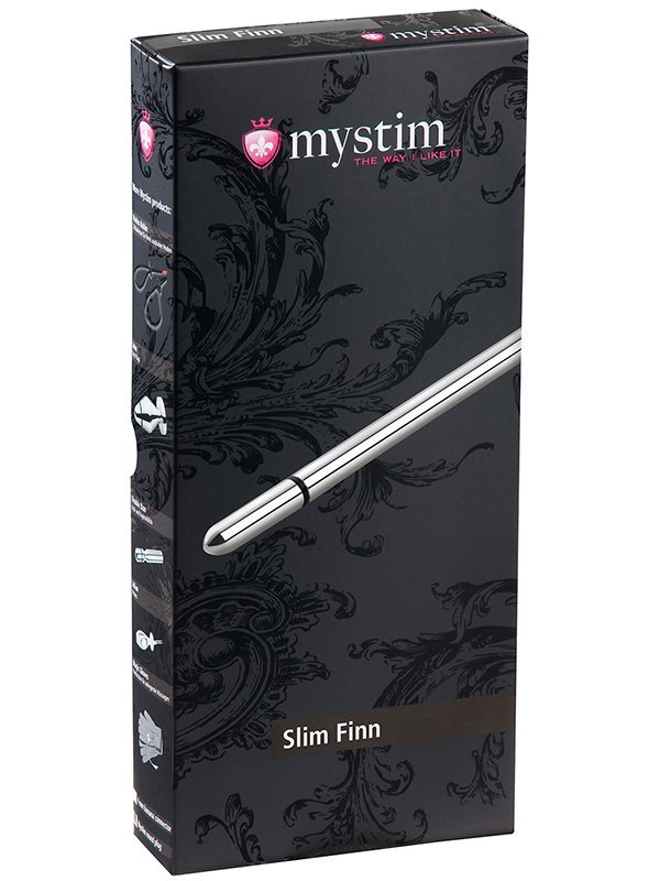 Электростимулятор уретры Slim Finn утонченный – серебристый