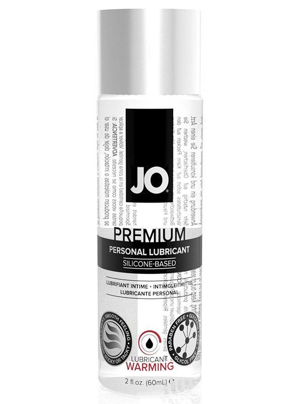 Возбуждающий силиконовый лубрикант JO Premium Warming - 60 мл