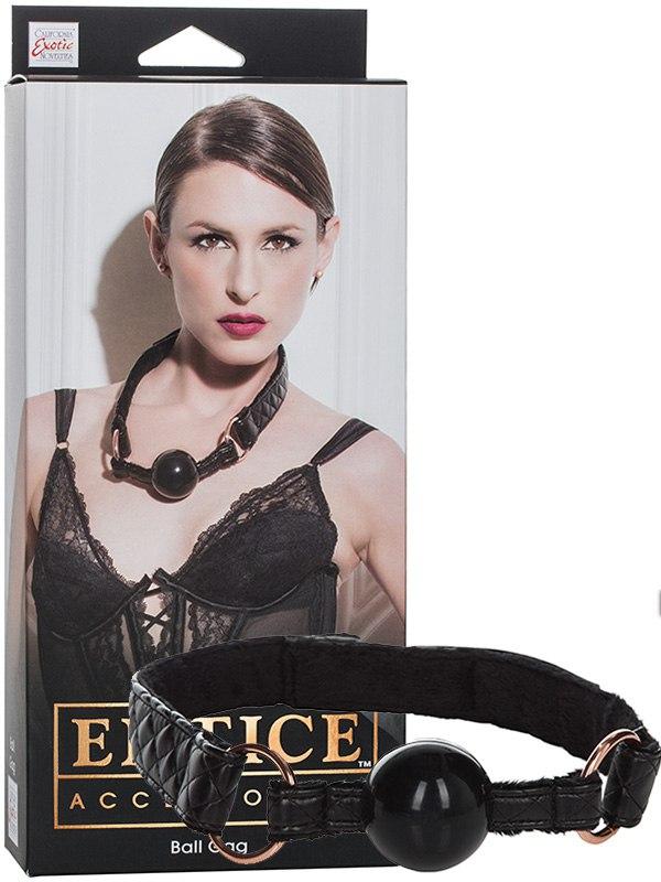 Кляп Entice Ball Gag – черный