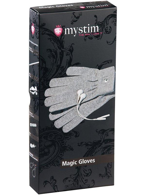 Перчатки Magic Gloves с электростимуляцией – серый