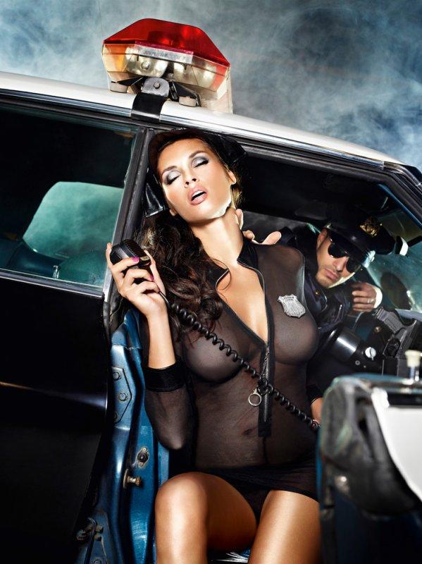 Игровой костюм Полиция Нравов