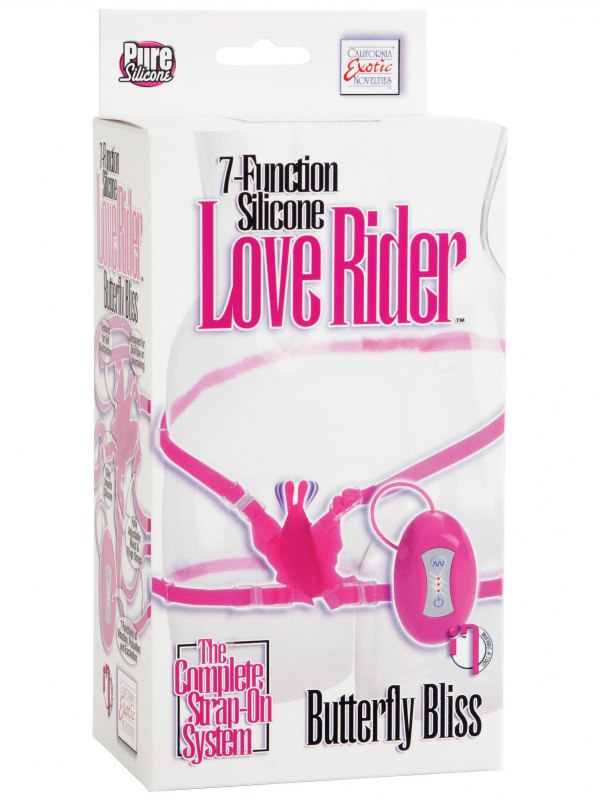 ���������� ������� �� ������ 7-Function Silicone Love Rider Butterfly Bliss