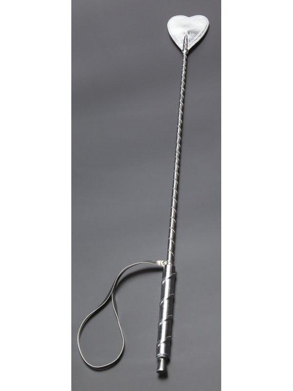 Стек Sitabella с наконечником в форме сердечка – серебристый