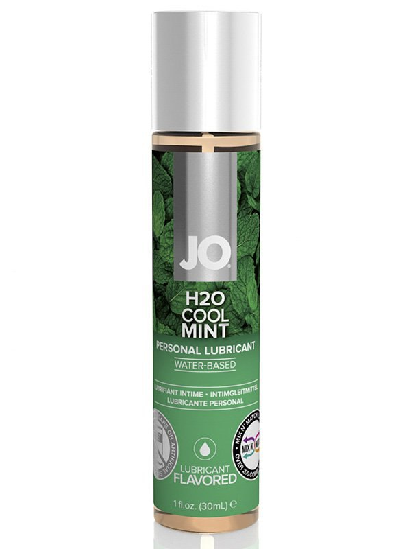 ��������� ��������� � �������� ���� JO Flavored Cool Mint � 30 ��