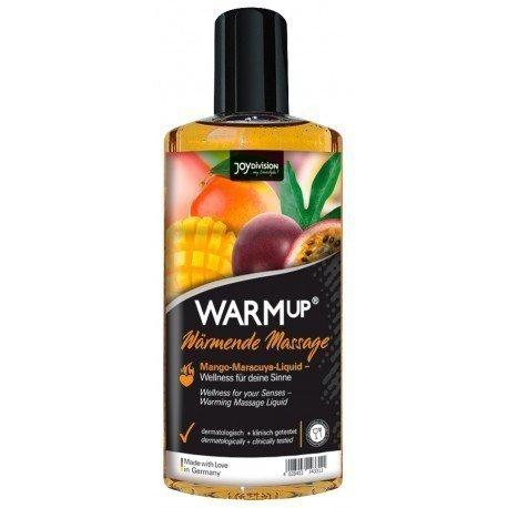 Съедобное разогревающее массажное масло WARMup Манго и Маракуйя - 150 мл