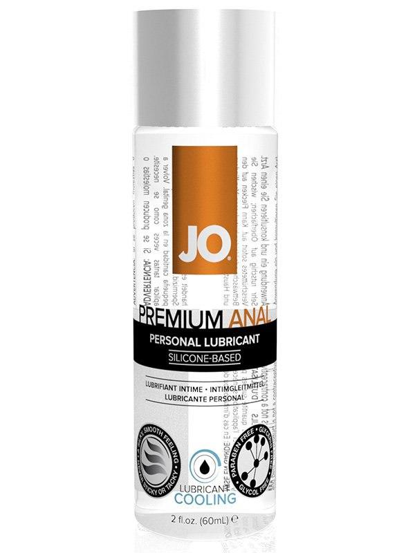 Охлаждающий анальный лубрикант на силиконовой основе JO Premium Cool - 75 мл