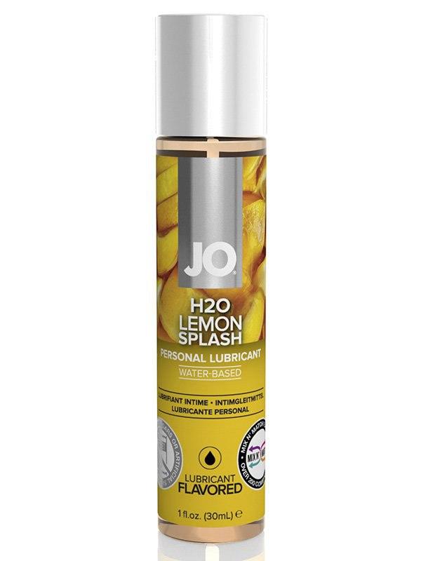Съедобный лубрикант JO Flavored Lemon Splash - 30 мл