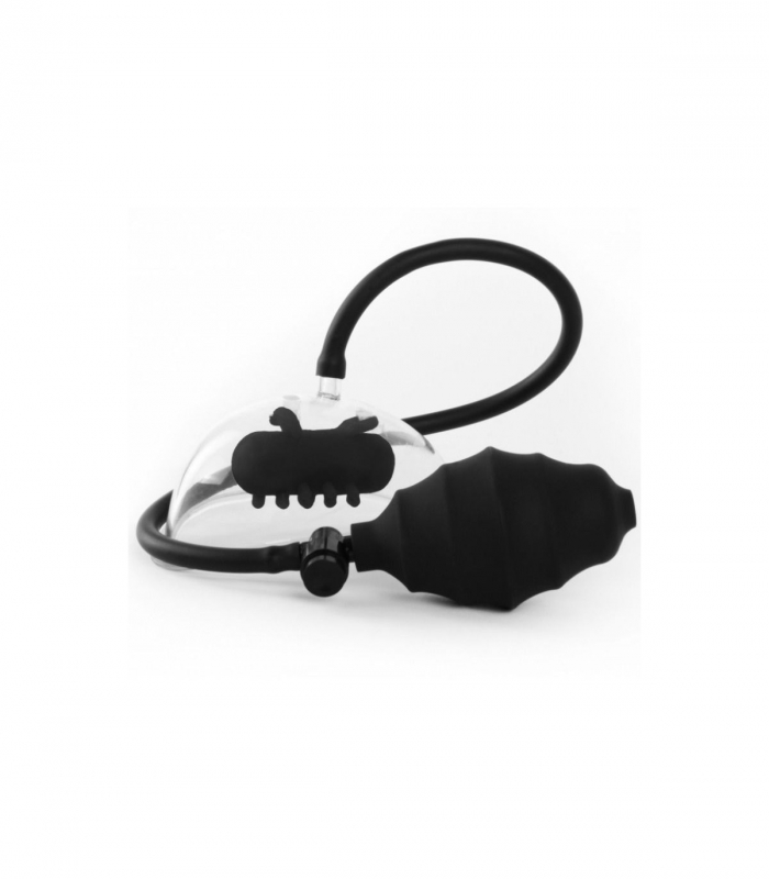 Вибромассажер Vibrating Pussy Pump - Black