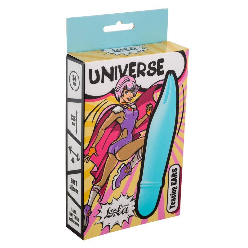 цена Мини-вибратор Universe Teasing Ears blue 9503-01lola