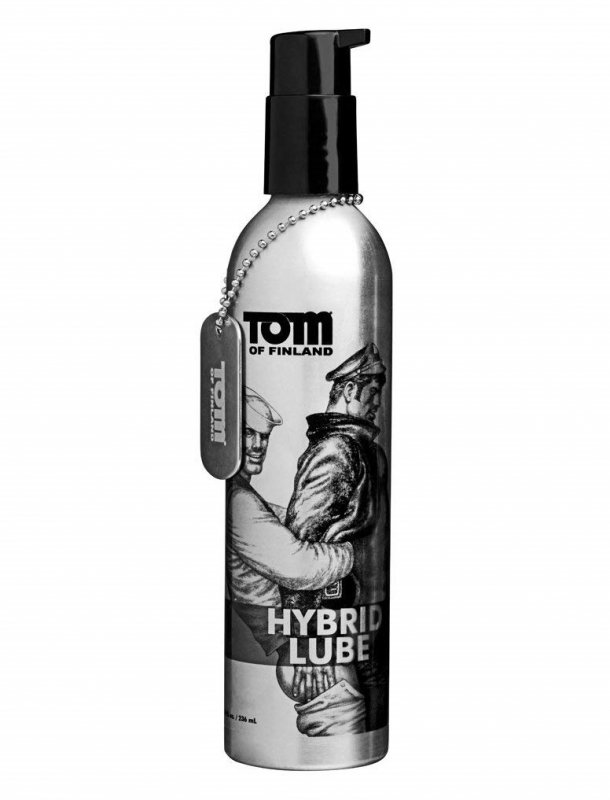 Гибридный лубрикант для анального секса Tom of Finland Hybrid Lube – 240 мл