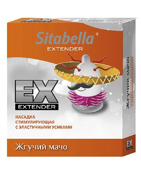 Насадка - презерватив Sitabella Extaz - Жгучий мачо (СК-Визит, Россия)