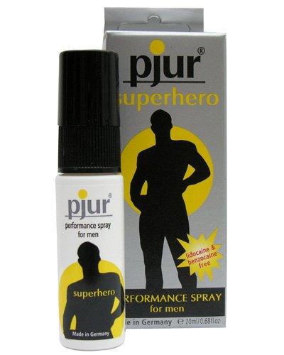 Пролонгирующий спрей Pjur® Superhero для мужчин - 20 мл