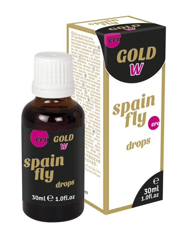 Возбуждающий эликсир в каплях для женщин Gold Women Spain Fly – 30 мл