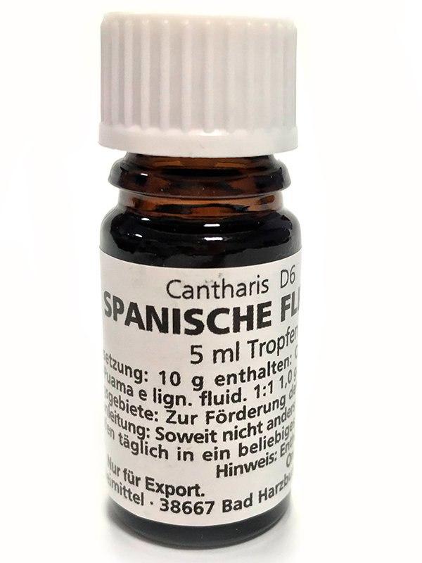 Косметическое средство Spanische Fliege-bottle («Шпанская мушка») – 5 мл