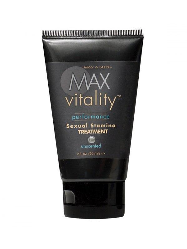 Крем для усиления потенции Max Vitality на основе травяной виагры – 60 мл от Он и Она