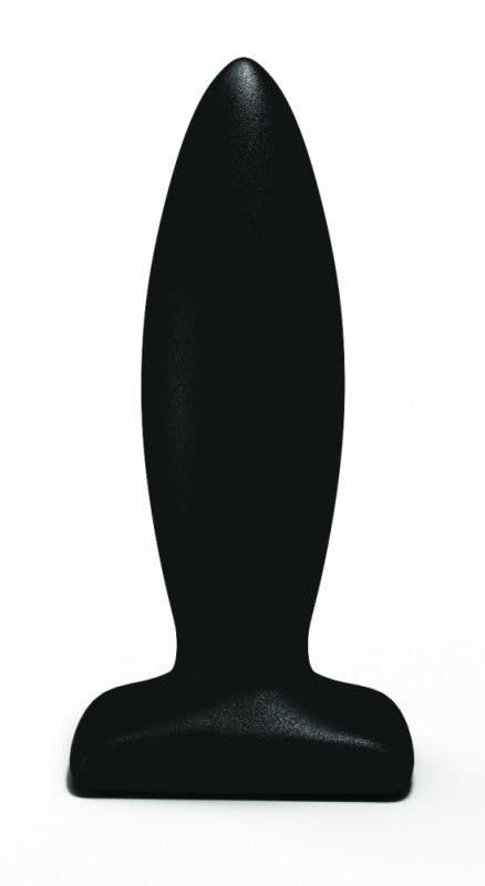 Анальный стимулятор Streamline Plug black 511679lola baile quintuplets розовый анальный стимулятор