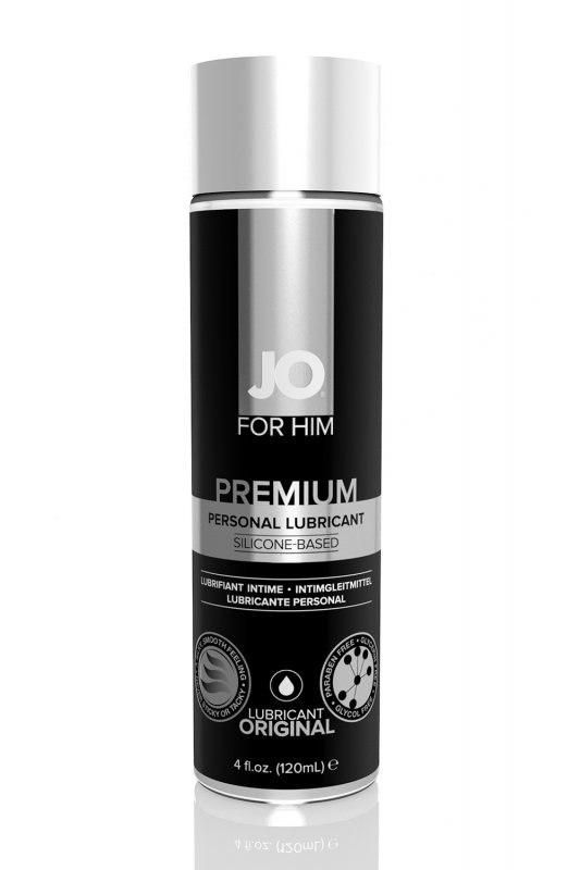 Мужской силиконовый лубрикант JO for Men Premium  120 мл