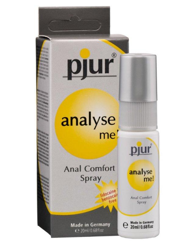 Обезболивающий анальный спрей Pjur Analyse Me! - 20 мл
