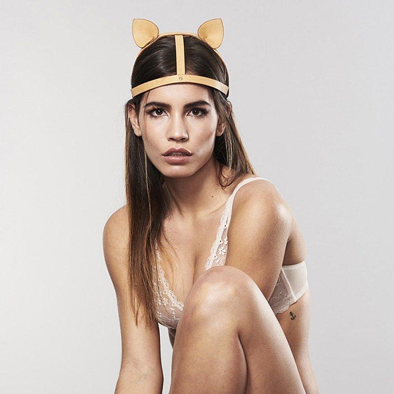 Ушки на голову Maze Head Piece – коричневый цена и фото