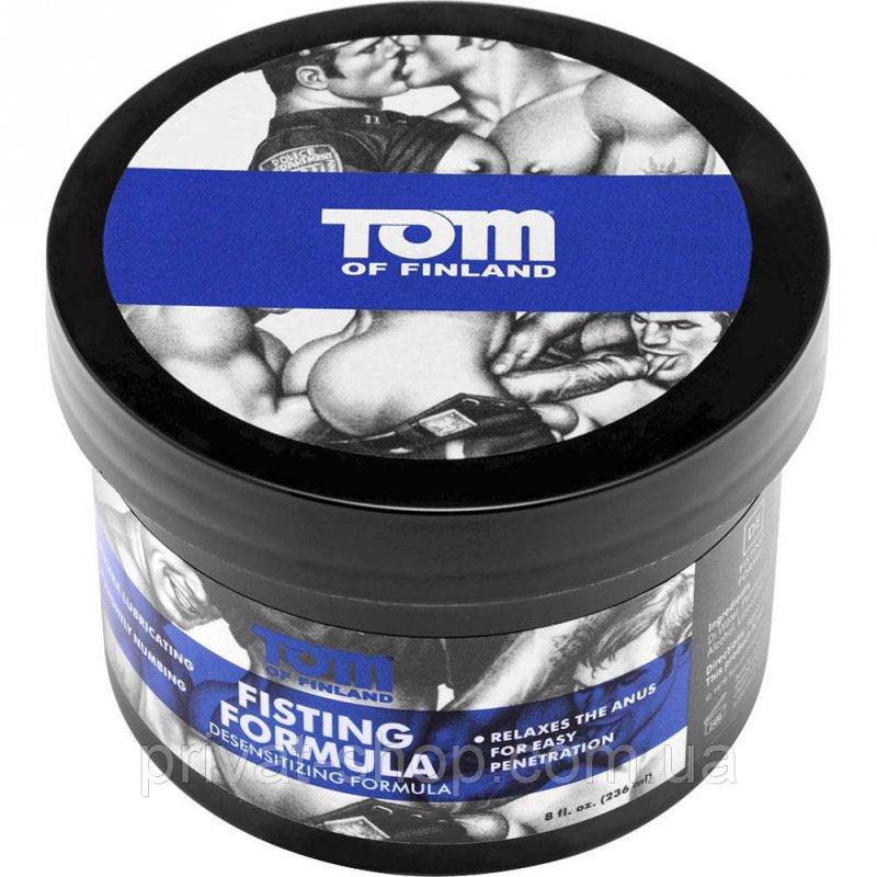 Масляный крем для анального фистинга с лидокаином Tom of Finland Fisting Formula Desensitizing Cream – 240 ml цены онлайн