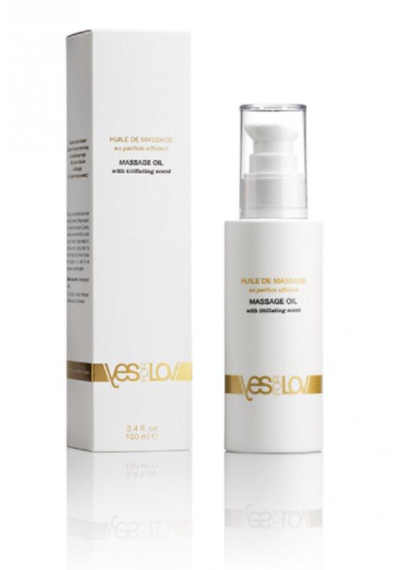 Ароматическое массажное масло Titillating Massage Oil - 100 мл