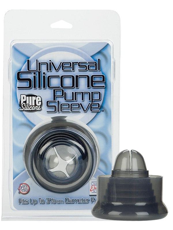 Уплотнитель для вакуумной помпы Universal Silicone Pump Sleeves – черный от Он и Она