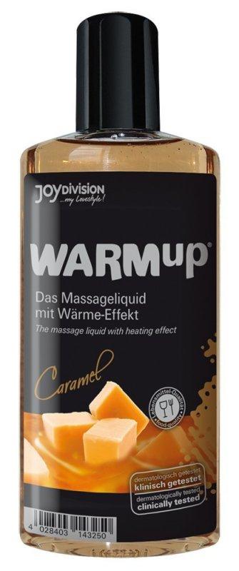 Съедобное разогревающее массажное масло WARMup Карамель - 150 мл