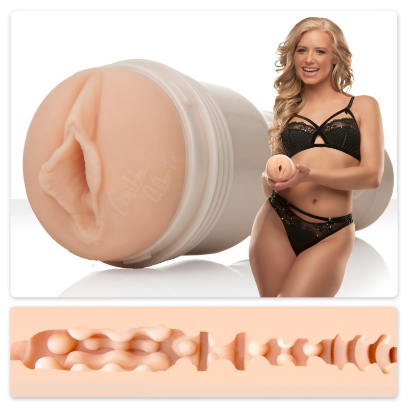Мастурбатор вагина Fleshlight Signature Anikka Albrite Goddess – телесный