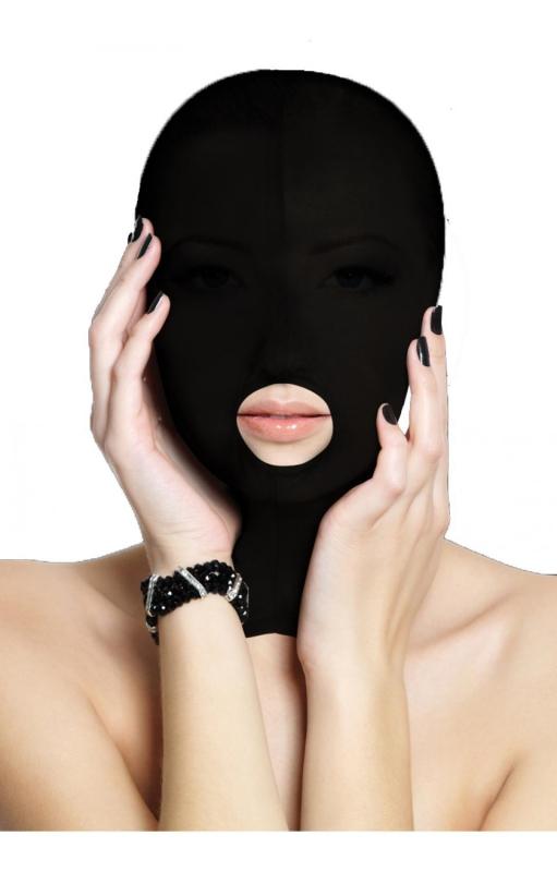 Маска на лицо из полиэстера Submission Mask Black