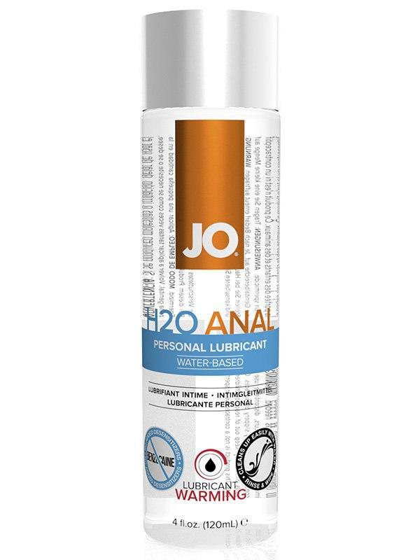 Согревающий анальный лубрикант JO H2O Warming - 120 мл