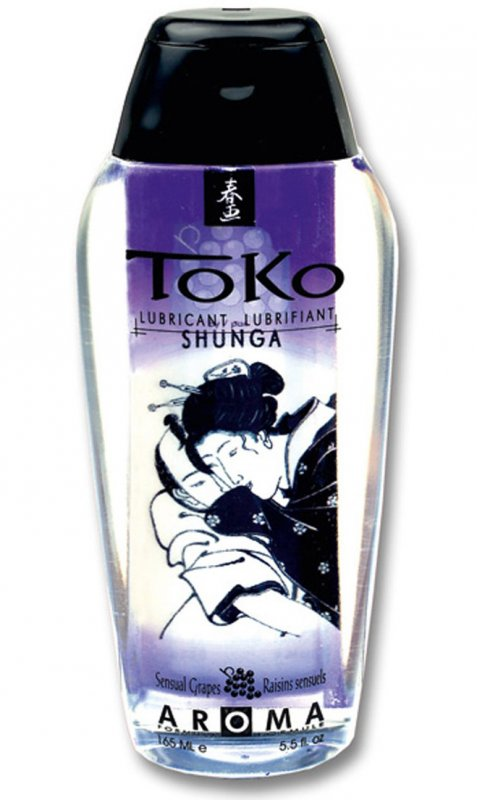 Съедобный лубрикант Toko Aroma Sensual Grapes от Он и Она